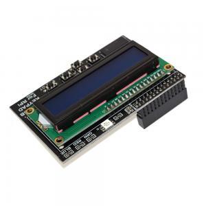 Buy cheap Blue Screen LCD 1602 RGB Keypad Shield for RPI 1602 LCD Display Module product