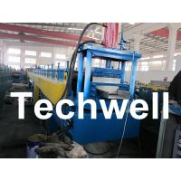 China PLC Controlled Top Hat Channel Profile Cold Roll Forming Machine on sale