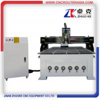 Buy cheap Chinese hot sale Jinan Wood Carving CNC Router with original NcStudio ZKM-1325A from wholesalers