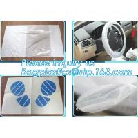 Buy cheap Disposable plastic car seat cover universal, Industrial Disposable Wipes Synthetic Leather Car Seat Cover Synthetic Leat from wholesalers