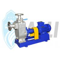 Buy cheap Stainless Steel Self Priming Centrifugal Pump , Self Venting Pump For Water / Slurry from wholesalers