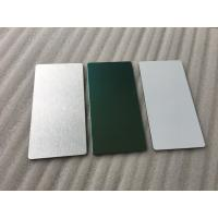 Quality Glossy Silver Aluminum Sandwich Panel Decorative Exterior Wall Panels for sale