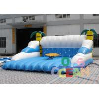 Buy cheap 5x5m Coconut Inflatable Mechanical Surfboard Party CE Certified from wholesalers