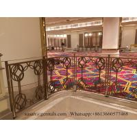 Buy cheap CHEAP PRICE MODERN BALCONY STAINLESS STEEL RAILING HANDRAIL FOR PARADISE HOTEL from wholesalers