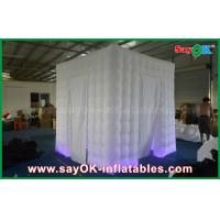 Buy cheap Two Doors Inflatable Photo booth Props Portable Shell with Led Lighting from wholesalers