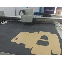 Buy cheap Cardboard corrugated small production making sample cutter equipment from wholesalers