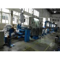 Buy cheap Durable plastic extrusion equipment cable extrusion machine With 1000mm Pay Off Bobbin from wholesalers