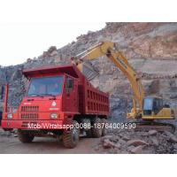 Buy cheap WD615.47 70 Ton Mining Heavy Duty Dump Truck 6 X 4 12.00 - 20 Tires from wholesalers