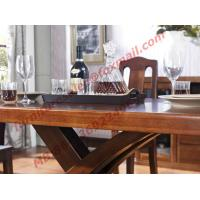 Buy cheap Luxury Design for Solid Wooden Furniture Dining Room Set from wholesalers