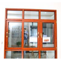 Buy cheap 108 series aluminum thermal break  casement  window with mosquito net from wholesalers