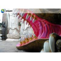 Buy cheap Flexible Mobile 5D Dinosaur Cinema Equipment 5D Movie Theater System ISO9001 product