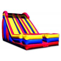 Buy cheap Dual 2  Lanes Large Inflatable Slide 0.55 Mm PVC Tarpaulin Enviroment - Friendly from wholesalers
