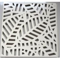 Buy cheap Office Building Perforated Metal Ceiling Tiles Fireproof Powder Coating from wholesalers