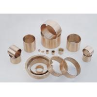 Buy cheap DIN1494 / ISO3547 Sliding Wrapped Bronze Bearing Low Maintenance With Lubrication Pockets from wholesalers