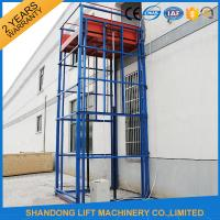 Buy cheap Outdoor Freight Hydraulic Cargo Lift with 3500kg Lifting Capacity 7 m Lifting Height from wholesalers