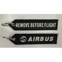 Buy cheap Airbus Embroidery Key Tag Remove Before Flight from wholesalers