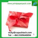 Buy cheap Custom Luxe Ribbon Duet Series Jewelry Box High Walled Rigid Folding Rigid Setup Gift Cake Box from wholesalers