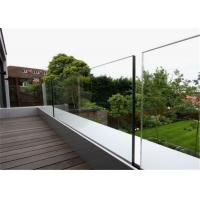 Buy cheap Outdoor Glass Panel Railings Frameless U Channel Glass Balustrade For Balcony Railing from wholesalers