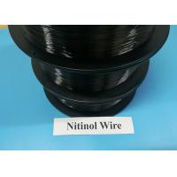 Buy cheap 0.03-5.0mm Shape Memory Alloy Materials Nitinol Nickel Titanium Superelastic product