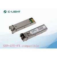 Buy cheap 2km Multi Mode JUNIPER SFP Modules / Dulplex LC Optical Transceiver Module product