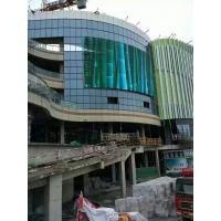 Buy cheap facade mesh advertising LED signs Transparent strip LED Screen Video Wall Outdoor display from wholesalers