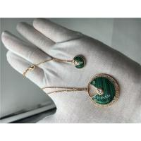 Buy cheap Malachite High End Custom Jewelry Amulette De Cartier Necklace For Women from wholesalers