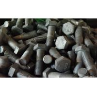 Buy cheap Heavy hex bolt  ASTM A325  Plain, black, phosphate, zinc, hot dip galvanizing dacromet, from wholesalers