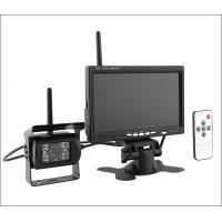 Buy cheap 12V 24V night vision Truck wireless rear view camera Trailer reversing camera system 7in LCD monitor product