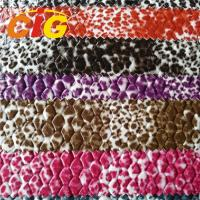 Buy cheap Multicolor Artificial PU Synthetic Leather For Bag / Sofa / Car 1.0~2.0MM Thickness product