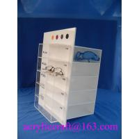 Buy cheap Transparent table top acrylic display stand / glasses display holder from wholesalers