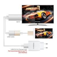 Buy cheap 1080P Samsung Galaxy Micro Hdmi To Hdmi Cable , Black Metal Hdmi 4k Cable For UHDTV, from wholesalers