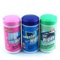 Buy cheap car cleaning wet wipes, screen cleaning wet wipes from wholesalers