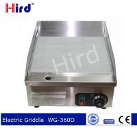 Buy cheap CE Electric griddle Best hot plate Temperature controlled hot plate  WG360D from wholesalers
