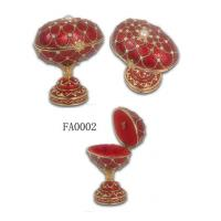 Buy cheap Faberge Egg Box Faberge Egg Jewelry Box Faberge Egg Jeweled Box from wholesalers