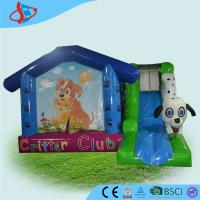Buy cheap Outdoor Pet Theme Inflatable Bounce House For Adults / Funny Blow Up Bouncers from wholesalers