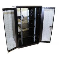 Buy cheap Floor Standing Network Equipment Rack For Data Center Dual Vented Doors 32U Size from wholesalers