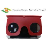 Buy cheap Foldable Colorful Plastic Virtual Reality Glasses Portable PMMA 32MM Lens from wholesalers