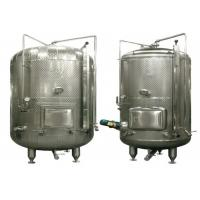 Buy cheap Food Grade Stainless Steel Wine Fermentation Tanks For Fruit Wine / Red Wine from wholesalers