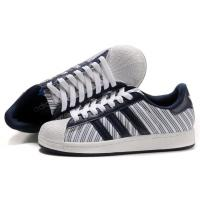 Buy cheap cheap Adidas Superstar 2 - White Navy Stripes Model: 236 from wholesalers