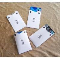 Buy cheap Cheap Cost Custom Printing RFID Blocking Card Cover Sleeves for secure payment from wholesalers