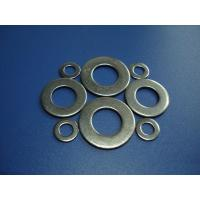 Buy cheap Customized Stainless Steel Flat Washers M20 With Round Hole , Hot Dip Galvanized from wholesalers