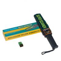 Buy cheap LED High Sensitivity Consumption Handheld Metal Detector for Security Industry product