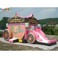 Buy cheap customized Hot Car Inflatable Bouncer Slide , Inflatable Car Combo Bouncer Slide from wholesalers