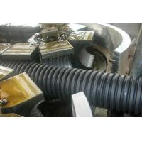 Buy cheap PE Screw Single Wall Corrugated Plastic Pipe Extrusion Line high speed from wholesalers