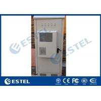 Buy cheap Galvanized Steel Double Wall Heat Insulation Outdoor Telecom Cabinet With Air Conditioner from wholesalers