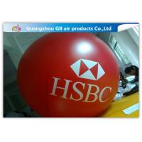 Buy cheap Yellow Fly Helium Sphere Advertising Air Balloon For Business Center Rental from wholesalers