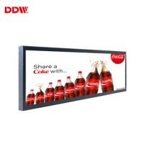 Buy cheap 23.1 Inch Transparent LCD Screen Stretched Digital Signage Monitor Display For Elevator product