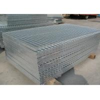 Buy cheap 3mm Thickness Galvanized Steel Grating Flat Cooling Towers Gratings from wholesalers