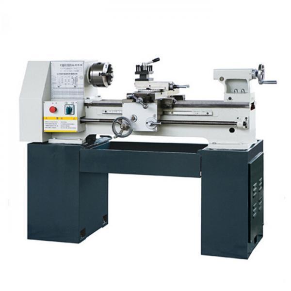 Quality Bench Lathe Machine / Mini Hobby Lathe Machine For Processing Metal Workpiece for sale
