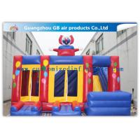Buy cheap Funny Safety Childrens Inflatable Bouncy Castle With Slide Combo Customized product